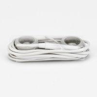 телефонная шина оптовых-Белый 3,5 мм Самый дешевый одноразовый в ухо наушник для мобильного телефона наушники гарнитура для автобуса, поезда или самолета для школы один раз
