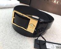 ingrosso modelli di design della cintura di cuoio-2017 moda modello doppia catena fibbia uomo donna cinture di design stile europeo marchio cinturini in vera pelle di alta qualità per regalo