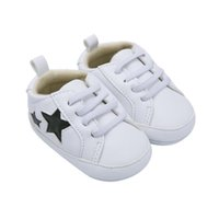 bb7adf11 Primavera Zapatos de Bebé Causal Chica Niño Primeros Caminantes Recién  Nacido Cuero de LA PU Suela Suave Antideslizante Calzado Zapatos para Niños  Pequeños ...