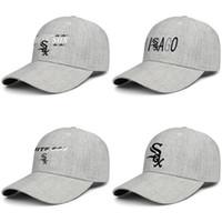 sombreros de lana blancos al por mayor-Chicago White Sox logo unisex ajustable del snapback del béisbol gorros de lana sombreros de la pesca TravelMilitary encargo fresco del logotipo de la bandera de malla wordmark