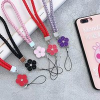 Wholesale phone cords lanyards for sale - Group buy New Fashion Short Hand Wrist Strap PU Anti slip Mobile Phone Straps For iphone Samsung Cord Phone Hand Rope USB Lanyard for Key