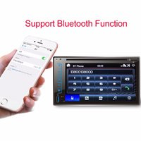 Wholesale car gps online - Arival Hot Sale HD DIN Car Bluetooth Touchscreen CD DVD Player Stereo MP3 AUX FM Radio USB SD Dropshipping Vehicle GPS