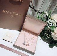 kette s geformt großhandel-Italien bv home diamant perlen halskette elegantes kleid geformt frauen choker halskette halsketten halsketten halsreifen keine box