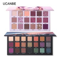 Wholesale sell eye shadow palettes for sale - Group buy 2pcs Best Selling Eye Shadow Palette Makeup Set Glitter Shimmer Matte NUDE Pigment Smoky Eyeshadow Cosmetics