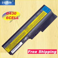 batería de 6 celdas al por mayor-HSW 6cell 5200 mah batería para Lenovo 3000 B460 B550 G550 G555 G430 L08L6Y02 G430L N500