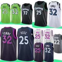 Wholesale basketball jerseys shorts for sale - Group buy Minnesota Jersey Timberwolves Derrick Rose Andrew Wiggins Karl Anthony Towns Jerseys Embroidery Logos Adult