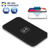 силовые передатчики оптовых-MC-02A Ци Стандарт Универсальное Беспроводное Зарядное Устройство Pad Power Bank Портативный Передатчик Аксессуар Для Samsung Galaxy S6 S7 Edge Iphone 8 Примечание 8