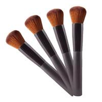Wholesale large foundation brush for sale - Large Flat Professional Perfecting Face Brush Multipurpose Liquid Foundation Brush Premium Face Makeup Brush Hot