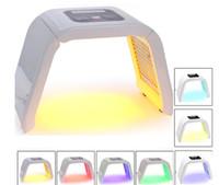 led foton maskesi toptan satış-7 Işık LED Yüz Maskesi OMEGA Işık Foton Terapi Makinesi vücut yüz cilt gençleştirme Için Akne Çil Kaldırma salon güzellik