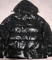 vestes en hiver pour femmes achat en gros de-2020 Mens Designer Vestes lettres à capuchon Réchauffez épais duvet d'impression Veste d'hiver Casual hommes et femme Down Jacket Taille S-2XL