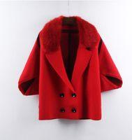 casaco de coleira venda por atacado-2019 primavera e T-shirt cardigan terno colar feminino curto casaco camisola solta Batman de Autumn New Mulheres