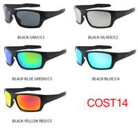 binicilik bisiklet gözlükleri toptan satış-10 ADET adam MALIYET Bisiklet güneş kadınlar açık SPOR Sürüş Gözlük rüzgar sürme gözlük becah güneş gözlükleri 5 RENKLER dorp nakliye
