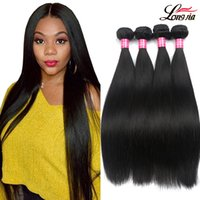 Wholesale grade 8a human hairs resale online - Grade A Malaysian Virgin human hair Products Unprocessed Virgin Malaysian Straight Hair Natural Color B