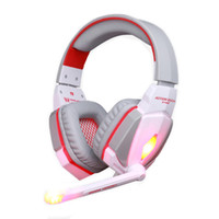 ingrosso auricolare ogni-KOTION EACH G4000 Stereo Gaming Headphone Headset Headband con Mic Volume Control per PC Game 10pcs / lot