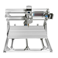 ingrosso batterie di legame-CNC3018 Mini macchina per incisione laser Router di legno Può essere utilizzato per lavorare legno, plastica, carta, bambù, corna ecc