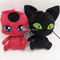 boneca de crianças negras venda por atacado-Milagrosa Boneca do joaninha The New 6 Inch Carton Plush Doll joaninha do gato preto de pelúcia boneca de brinquedo Bichos de pelúcia presentes para crianças brinquedos