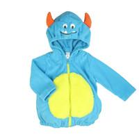 niños chaquetas de primavera al por mayor-Baby Boy Costume Coat Niños Pequeños Niños Primavera Otoño Abrigos Abrigos Chaqueta Infantil Ropa Encantadora 6m 1t 18m Nuevo