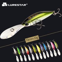 Wholesale big top water lures for sale - Group buy 10g mm Levitation Action Minnow Fishing Lure Big Spoiler Top Quality Hard Bait Salt Water Fresh Water Fishing Tackle