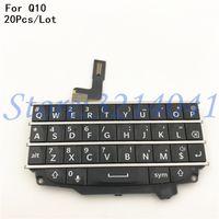 flex blackberry toptan satış-20 Adet / grup kaliteli Klavye Flex Yedek parça Için Blackberry Q10 Tuş Düğmeleri Onarım parçaları