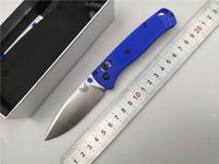 cuchillas de bolsillo plegables al por mayor-Benchmade 535 D2 del cuchillo plegable de nylon mango de fibra de vidrio de caza arandela de cobre al aire libre del bolsillo que acampan supervivencia Cuchillos EDC