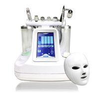 máquinas para tratamentos faciais venda por atacado-7 em 1 bio rf martelo hidro microdermoabrasão 5 em 1 derrabrasion hydra de água 6 em 1 spa pele facial máquina de limpeza dos poros