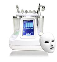 máquina de limpieza facial al por mayor-7 en 1 bio rf hammer hidro microdermoabrasión 5 en 1 hidra hidabrasa 6 en 1 spa facial máquina de limpieza de poros de piel