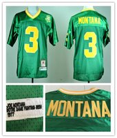 106f544d5 Wholesale Mens #3 Joe Montana Jerseys Notre Dame Fighting Irish High  Quality Full Stitched College Jerseys Shirt 1977 Vintage S-3XL