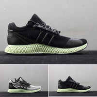 ingrosso y3 formatori-Mens ADIDAS Y3 alphaedge 4D Runner Outdoor uomo Scarpe da corsa Sport scarpe da ginnastica Sneakers con scatola