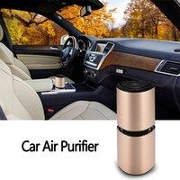 oxigeno electronico al por mayor-La electrónica del automóvil del coche del USB portátil purificador de aire humidificador de aire Filtro de oxígeno barra auto difusor ambientador