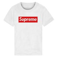 vieux vêtements pour garçons achat en gros de-nouvelle marque designer marque 2-9 ans bébé garçons filles T-shirts 2019 chemise d'été Tops coton enfants Tees enfants vêtements 2 couleurs t20