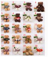 novos ursinhos de pelúcia venda por atacado-New Genuine 20 Modelos Teddy Bear Urso de Pelúcia Urso 30 CM Urso de Pelúcia Animais De Pelúcia Toda a Série de Boneca de Pelúcia