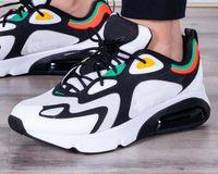 estilo de sapatos de homens azuis venda por atacado-Nike Air Max 200 Tênis de corrida dos homens sapatos new arrival 200 preto branco azul verão calçados esportivos tênis novo estilo eur 40-45