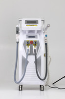 4 in 1 Multifunction Strong Energy OPT SHR IPL Laser Hair Removal ND YAG Laser Tattoo Removal Beauty Machine IPL RF ND YAG Elight