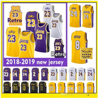 b997860b James Bryant Kuzma Ball Ingram jersey 24 Kobe 23 LeBron 0 Kyle 2 Lonzo 14  Brandon Basketball Jersey cheap 01