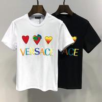 t impression carrée achat en gros de-Ver nouveau t-shirt pour enfants de mode confortable et respirant avec des tissus fins belle impression carré