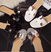 cortar sandálias de praia venda por atacado-Novos chinelos cortar verão sandálias de praia Moda feminina desliza chinelos ao ar livre indoor slip ons chinelos Sandálias de Verão