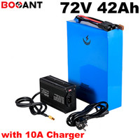 72V 40Ah Scooter Lithium Battery for 5000W 9000W Motor electric bike battery 72V for Samsung 30Q 18650 +100A BMS +10A Charger