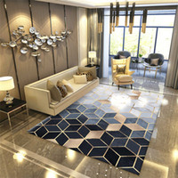Nordic Geometric Carpet for Living Room Bedroom Anti-slip Large Rug Floor  Mat Yoga Tapete Sala Area Rugs Decoration Home