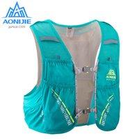 renngeschirre groihandel-AONIJIE C933 Trinkrucksack Rucksack Rucksack Tasche Weste Harness Wasser Blase Wandern Camping Laufen Marathon Rennen Klettern 5L