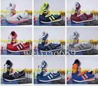 korea schiff großhandel-18 dorp Verschiffen Frauen der Männer Südkorea Joker 1 Schuhe Buchstaben atmungsaktiv Laufschuhe Turnschuhe Segeltuch-Freizeitschuhe 36-44