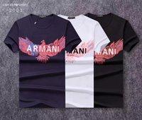564c18e3a0 Wholesale korean couples shirts online - 2019 hot new couple wear letters  bird pattern print fashion