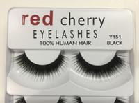 Wholesale pack false lashes for sale - Group buy Red Cherry False Eyelashes pairs pack Styles D Mink Eyelashes A11 Eyelash Natural Long Professional Makeup Big Eyes Dropshipping