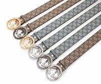 Wholesale big size belts for men resale online - COWATHER hot sale jeans men belt cow genuine leather belts for men new arrival good quality male strap CM big size