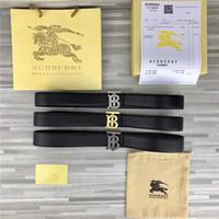 ceintures d'argent femmes achat en gros de-Ceintures à la mode pour hommes et femmes lettres café noir lettre or argent boucle de ceinture largeur 3,4 cm designer ceinture sans boîte livraison gratuite