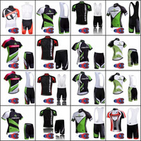 Wholesale bikes merida cycling team for sale - Group buy 2019 MERIDA Team bike cycling clothing Set summer quick dry men cycling Jersey bicycle bib D gel pad shorts suits