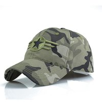 Wholesale Famous Camo US Army Brand Cap Men Army Baseball Cap Dad Hat For Men Camouflage Snapback Bone Masculino Tactical Dad Cap