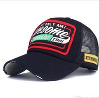 la gorra de béisbol se ajusta al por mayor-Sombreros de gorra de béisbol con bordado de verano para hombres y mujeres Snap nf