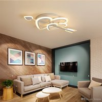 Wholesale first pipe resale online - Led ceiling lamps At first sight bedroom wedding room simple modern ceiling lamp Indoor Lighting RC Dimmable Pendant Lamps AC V