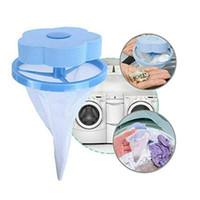 poche pour outils achat en gros de-Sac de maille flottant réutilisable pour sac de maille Sac de filtre de lavage Machine de boule de linge Machine de mèche de cheveux réutilisable