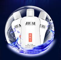 óleos lubrificantes venda por atacado-JIUAI 215ML óleo de massagem sexo lubrificante, lubrificante à base de água, Masculino e lubrificação Feminino, Gay Anal Lubrificante para sexo
